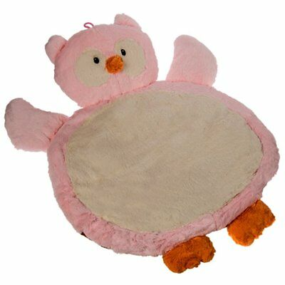 Mary Meyer Pink Owl Baby Mat 31×23 in