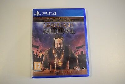 grand ages medieval edition dayone ps4 ps 4 playstation 4 neuf sous blister