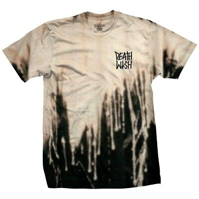 DEATHWISH Skateboards T-Shirt *The Truth*, bleached, beige, Gr. S  **Fall '17**