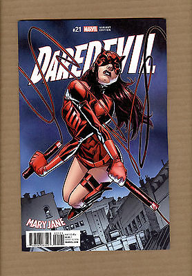 Daredevil #21 Humberto Ramos Mary Jane Variant Nm/nm
