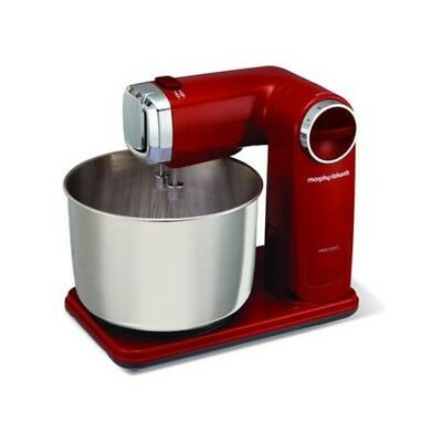 Morphy Richards 400404 Accents Folding Stand Mixer, 300 Watt - Red