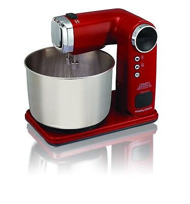 Morphy Richards 400406 Total Control Folding Stand Mixer - Red