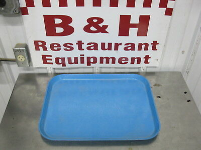 "Cambro Serving Market Tray Fiberglass Light Blue Bakery Sheet Pan 14"" x 18"""