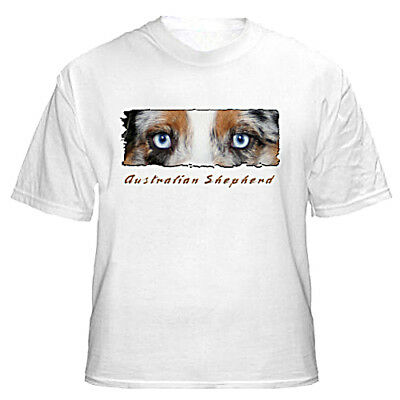 "Australian Shepherd   blue  # 1 "" The Eyes Have It ""  T shirt"