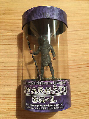 Stargate SG-1 Series 1 Pewter Figure Jaffa Serpent Guard Phoenix