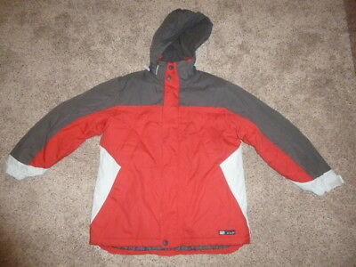 NEW Gap Kids Boys Red Jacket Size L Winter Coat NWT Large size 10 with Hood