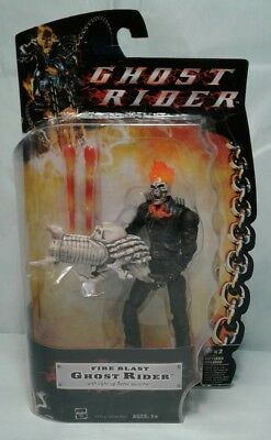 Hasbro Marvel Ghost Rider Fire Blast - Ghost Rider w/Light-Up Flame Launcher NIB