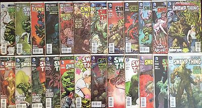 Swamp Thing New 52 Lot Of 38  Comics