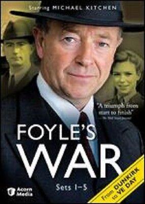 FOYLE'S WAR Series 1-5: From Dunkirk to VE Day (19-Disc DVD Set)~~~NEW & SEALED