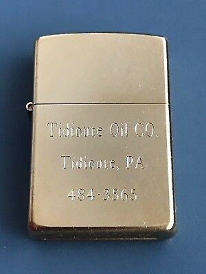 * Vintage 2003 - Zippo - Tidioute Oil Company Lighter - Made in the USA