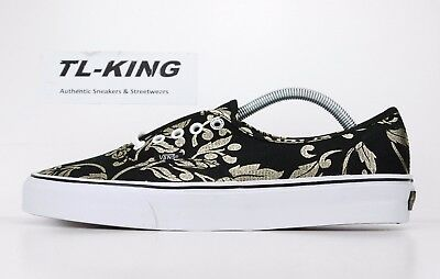 71100f0d92a033 Vans Authentic 50th Anniversary Duke Black Gold Foil VN0004MLJ7B Msrp  65 HK