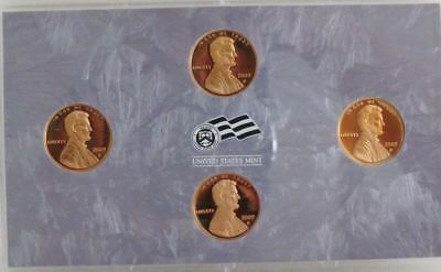 2009 S Lincoln Cent Proof 4 Coin Bicentennial Set No Box or COA US Mint