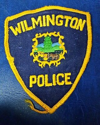 Wilmington, Vermont Police Shoulder Patch Vt