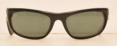 9a3cc79cb ... real vintage ray ban balorama black sunglasses bl usa flawed for parts  wrap around f3db7 b4c1d