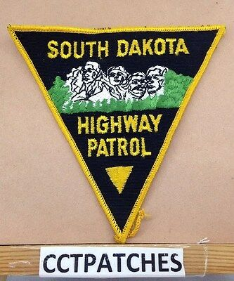 2 South Dakota Highway Patrol shoulder patches SD state police SDHP