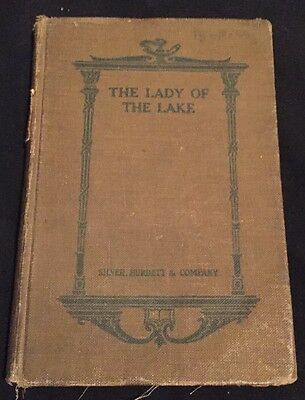 Antique Book Lady of the Lake by Sir Walter Scott