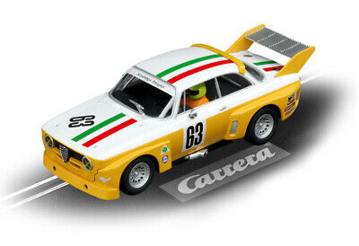 Alfa Romeo GTA Silhouette Race2 Carrera Evolution Toy Slot Race Car 1:32 Scale