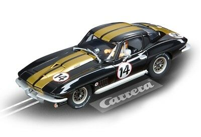 Chevrolet Corvette Sting Ray Carrera Evolution Race Track Slot Car 1:32 Scale