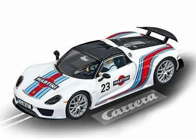 Porsche 918 Spyder Martini Racing Carrera Evolution Slot Track Car 1:32 Scale
