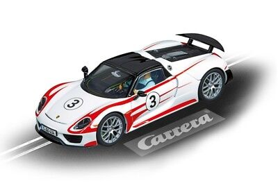 Porsche 918 Spyder #03 Carrera Evolution Slot Track Toy Race Car 1:32 Scale New