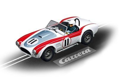 Shelby Cobra 289 #11 Carrera Evolution Slot Track Toy Race Car 1:32 Scale New