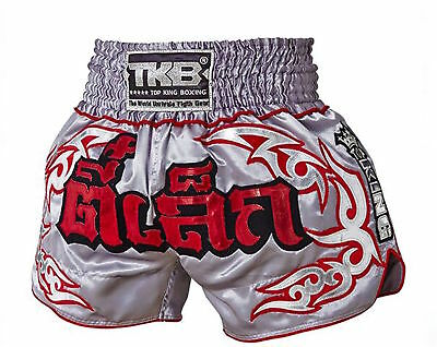 Top King Muay Thai Boxing Shorts Tee Lek