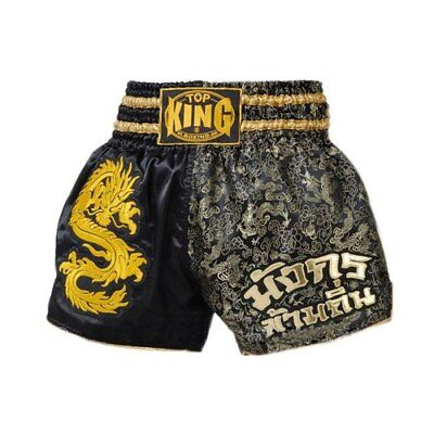 Top King Muay Thai Boxing Shorts Dragon Over the Place