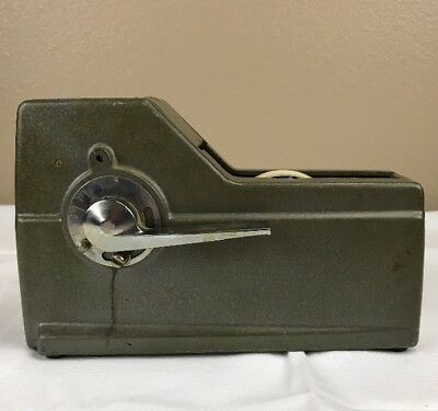 Vintage Industrial Scotch M92 Lever Steel Tape Dispenser Very Solid & Heavy A26