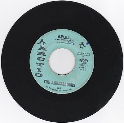Northern Soul 45Rpm - The Ambassadors On Arctic - Rare!