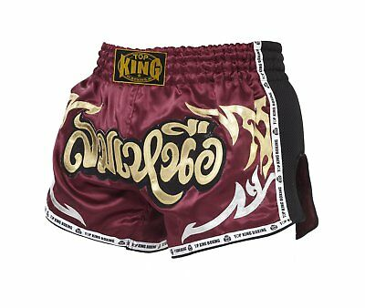 Top King Muay Thai Boxing Shorts Retro
