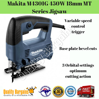 Makita M4301G 450W 18mm MT Series Jigsaw DIY Variable Speed Control Power Tool