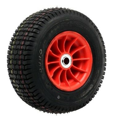 "Ambassador NYLON TROLLEY WHEEL WITH 3/4"" AXLE DIAMETER 3.5x4"" Chunky Tread"
