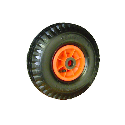 "Ambassador NYLON TROLLEY WHEEL WITH 3/4"" AXLE DIAMETER 2.5 x 4"" Chunky Tread"
