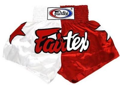 Fairtex Muay Thai Boxing Shorts Limited Collection Patriot White Red