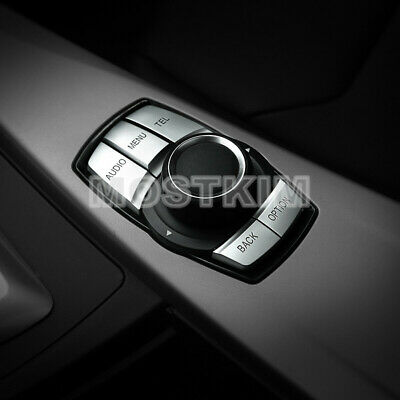 Inner Console iDrive Multimedia Button Cover For BMW 3 Series F30 F34(3 Model)