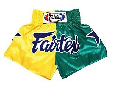 Fairtex Muay Thai Boxing Shorts Limited Collection Patriot Yellow Green