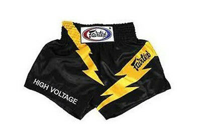 Fairtex Muay Thai Boxing Shorts High Voltage