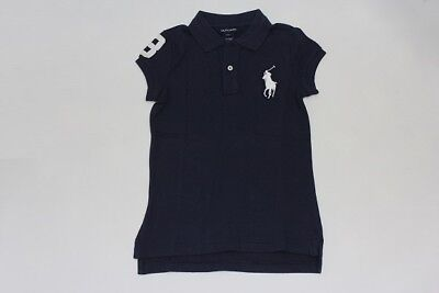 Brand New  Authentic Ralph Lauren Girls Big Pony Short Sleeve Shirts Size S(7)