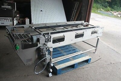 Bakery Conveyor baking tray panner end of line double