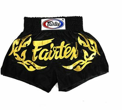 Fairtex Muay Thai Boxing Shorts Eternal Gold