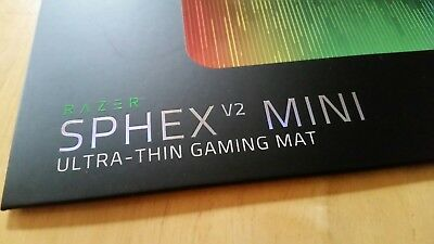 Razer sphex Ultra Thin Gaming Pad Sphex V2 Mini Neu Ultraschall dünnes Mouse Pad