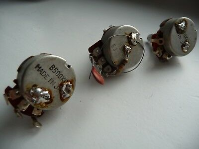 Gibson Vintage Pots - Les Paul Potentiometer Set