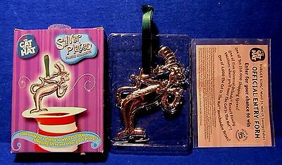 The Mischievous Cat Dr Seuss Silver Plated Christmas Ornament The Cat in the Hat