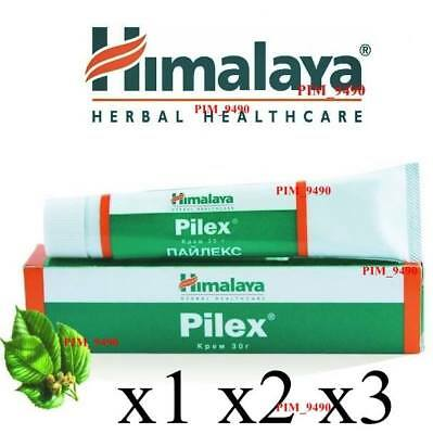 Himalaya PILEX Cream Ointment Piles Hemorrhoids Fissures Rectal Itching 30g