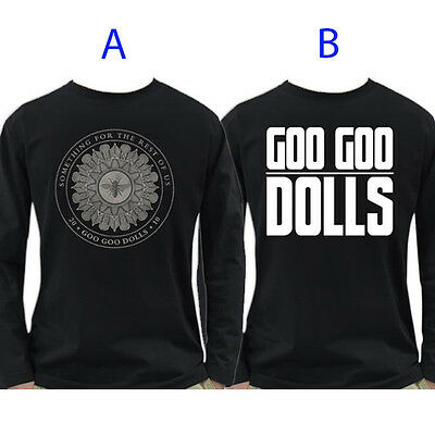 Goo Goo Dolls Band Long Sleeve T-Shirt 100% Cotton