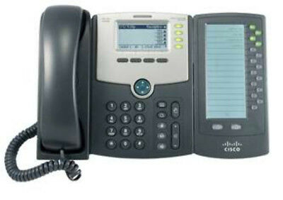 Cisco SPA500DS Wired handset 30lines LCD Black IP phone 20% off ends 28/5