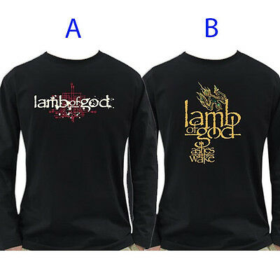 Lamb of God Band Long Sleeve T-Shirt 100% Cotton