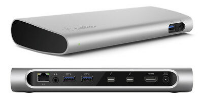 Belkin Thunderbolt 2 Express Dock Hd With Cable For Devices With Thunderbolt Por