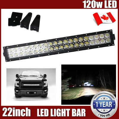 22''inch 120w Led Light Bar Work Driving Fog Truck SUV UTE Jeep Ford Off road 20