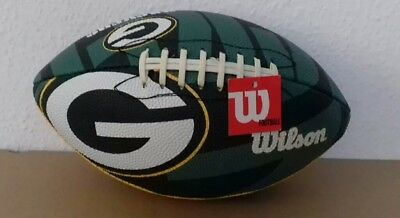 WILSON NFL Green Bay Packers Football LIMITED EDITION  27 x 16 cm
